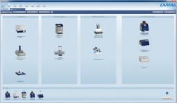 Cromatografía en capa fina, Software para HP TLC