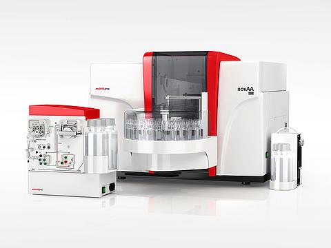 Espectroscopía de absorción atómica, novAA800