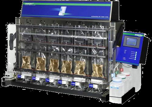 Fibra dietética, analizador automático