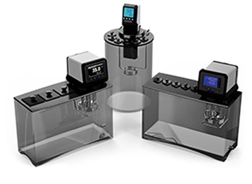 Baños de viscosidad, calibración, alta capacidad