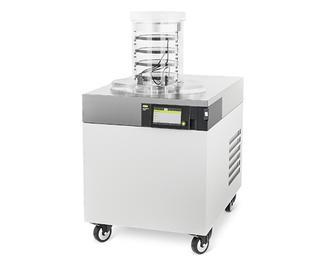 Liofilización en laboratorio, continuo o en lotes