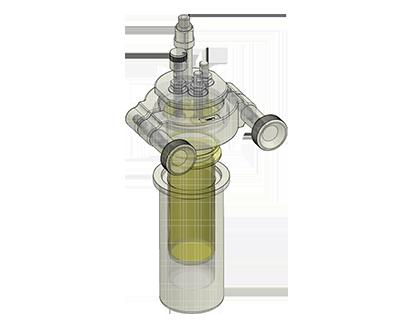 Reactores de alta presión libre de metales