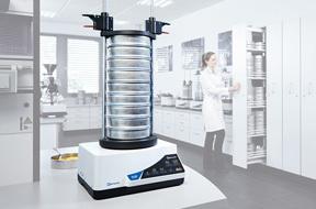 Tamizado y división de muestras