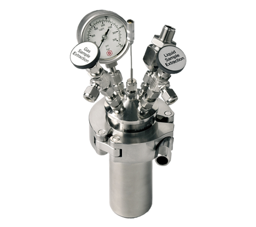 Reactores de alta presión sin agitación